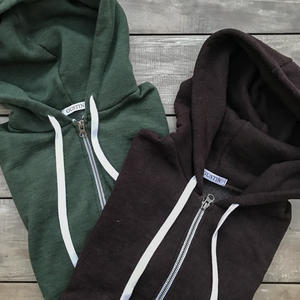 Twisted Yarn Fleece Zip Hoodie 2 Pack (Oxblood, Forest)