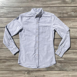 Charcoal Oxford Flannel