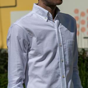 #633 White Oxford Flannel