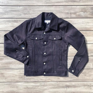 Cone BlueXBlack Selvedge Trucker