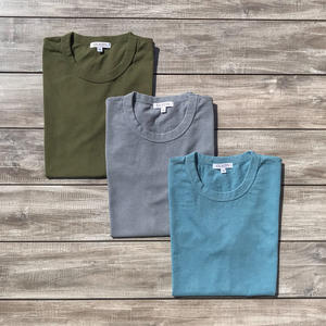 Heavyweight T-Shirt 3 Pack (Army Green, Slate, Sea Blue)