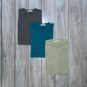 USA Heather T-Shirt 3PK (Gunmetal, Sea Blue, Citron)