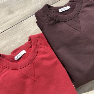 USA Crewneck Sweatshirt 2PK - Oxblood, Red