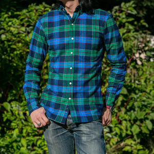 #651 Electric Flannel