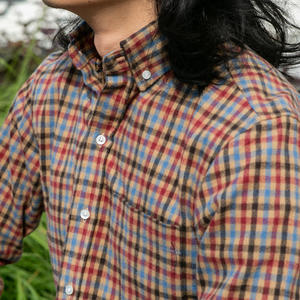 #704 Camel Red Flannel