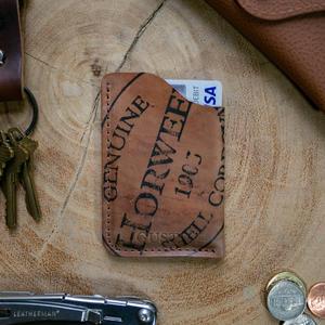 Horween Shell Cordovan Corner Wallet - Reverse #8