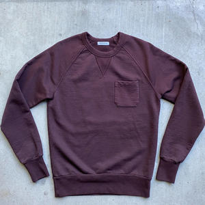 Pocket Sweatshirt - Oxblood