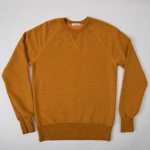USA Crewneck Sweatshirt - Saffron