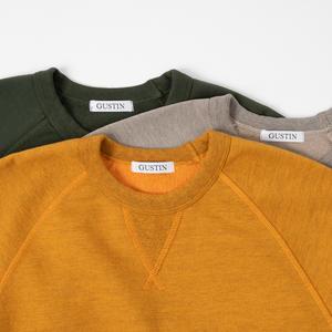 USA Crewneck Sweatshirt 3PK - Saffron, Putty, Hunter Green