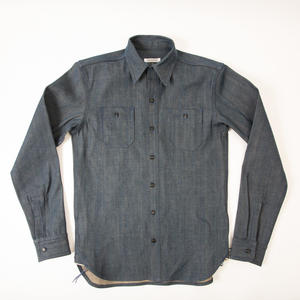 #37 Antique Indigo Selvedge Workshirt