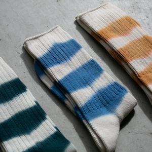 Japan Stripe Dye Socks 3pk