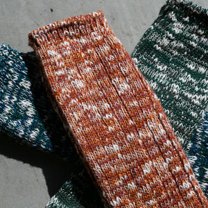 Japan Slub Sock 3PK (Saffron, Ocean, Forest)