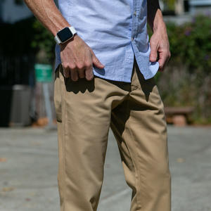 #205 Superfine Gold Khaki Chinos