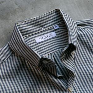 #739 Selvedge Indigo White Stripe