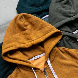 Twisted Yarn Fleece Zip Hoodie 3PK