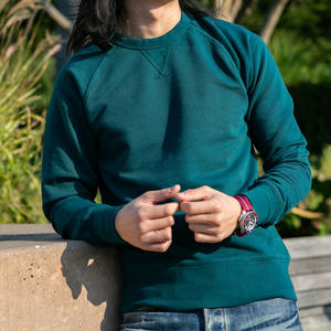 USA Crewneck Sweatshirt - Teal