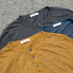 Twisted Yarn Henley 3 Pack