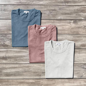 Heavyweight Pigment Dye T-Shirt 3 Pack (Oatmeal, Faded Rose, Ocean)