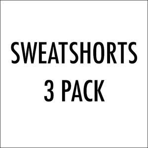Sweatshort 3-Pack