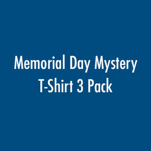 Memorial Day Mystery T-Shirt 3 Pack