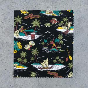 #696 Aloha Hawaiian Short Sleeve - Black