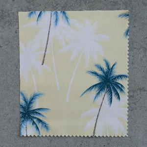 #701 Maize Palms Short Sleeve Shirt