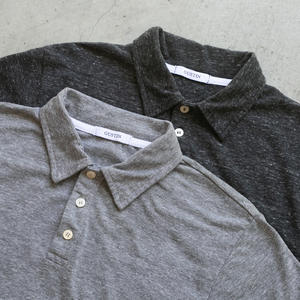 Heather Polo 2 Pack (Grey, Charcoal)