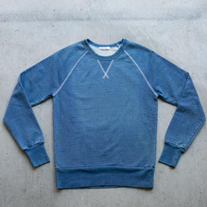 Vintage Indigo White Stitch Sweatshirt