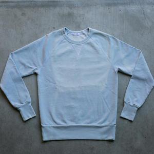 Sun Fade Indigo White Stitch Sweatshirt