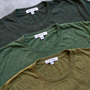 Heather T-Shirt Green Collection 3PK