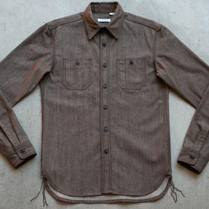 #47 Rust Brown Workshirt