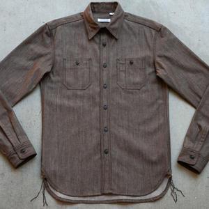 #47 Rust Brown Workshirt