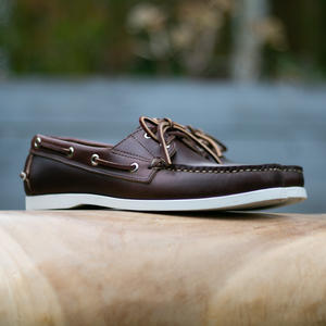 Horween CXL Brown Boat Shoe