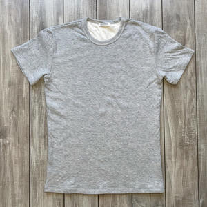 Double Knit T-Shirt 2 Pack - Heather Grey