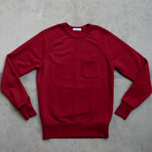 Pocket Sweatshirt - Red