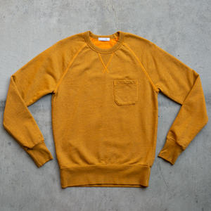 Pocket Sweatshirt - Saffron