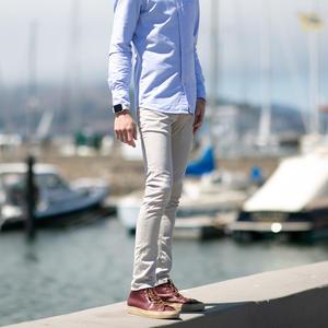 #42 French Twill 5 Pocket - Light Khaki