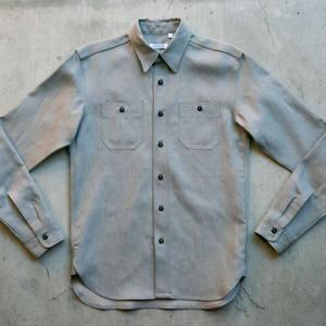 #51 Italy Big Linen Workshirt