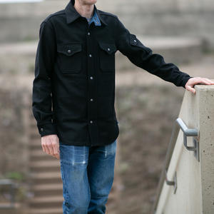#2 Black Wool CPO