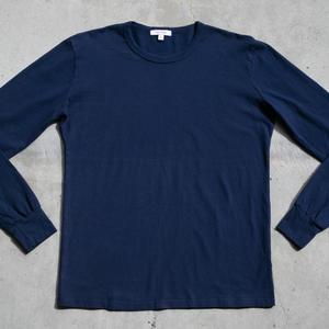 Long Sleeve Heavyweight T-Shirt 2 Pack (Navy)