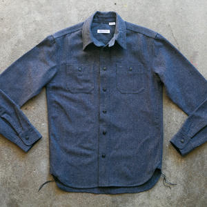 #54 Union Blue Wool Workshirt
