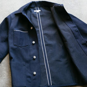 #2 Engineer Jacket - Cone BlueXBlack