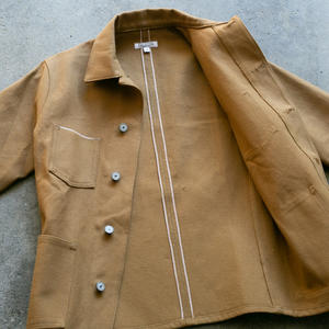 #3 Engineer Jacket - Honey Brown Selvedge Duck
