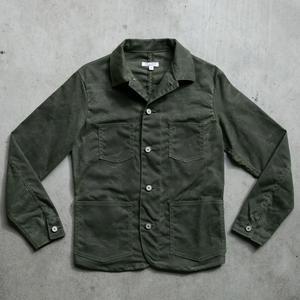 #5 Engineer Jacket - Waxed Olive