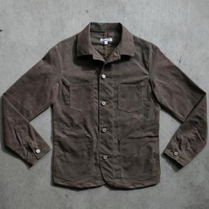 #6 Engineer Jacket - Waxed Dark Oak