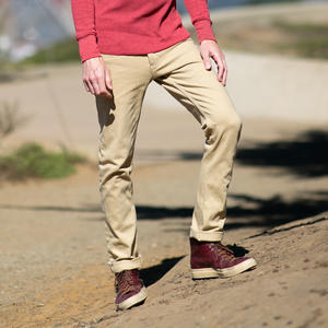 #497 4 Way Stretch Selvedge - Brown