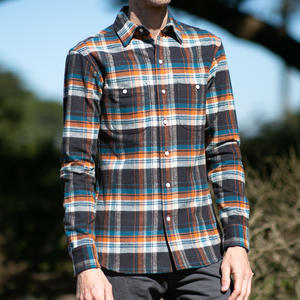 #790 Super Heavy Flannel - Gulf Oil