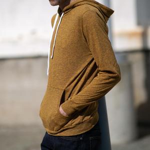 Twisted Yarn Hoodie - Saffron