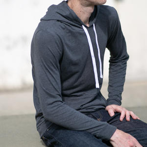 Twisted Yarn Hoodie - Charcoal
