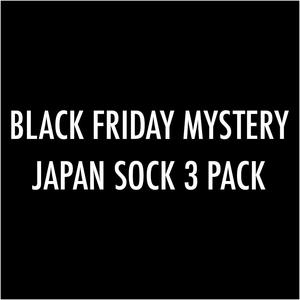 Black Friday Mystery Japan Sock 3PK
